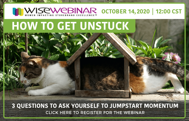 WISE-172 Get unstuck WEBSITE AD 02