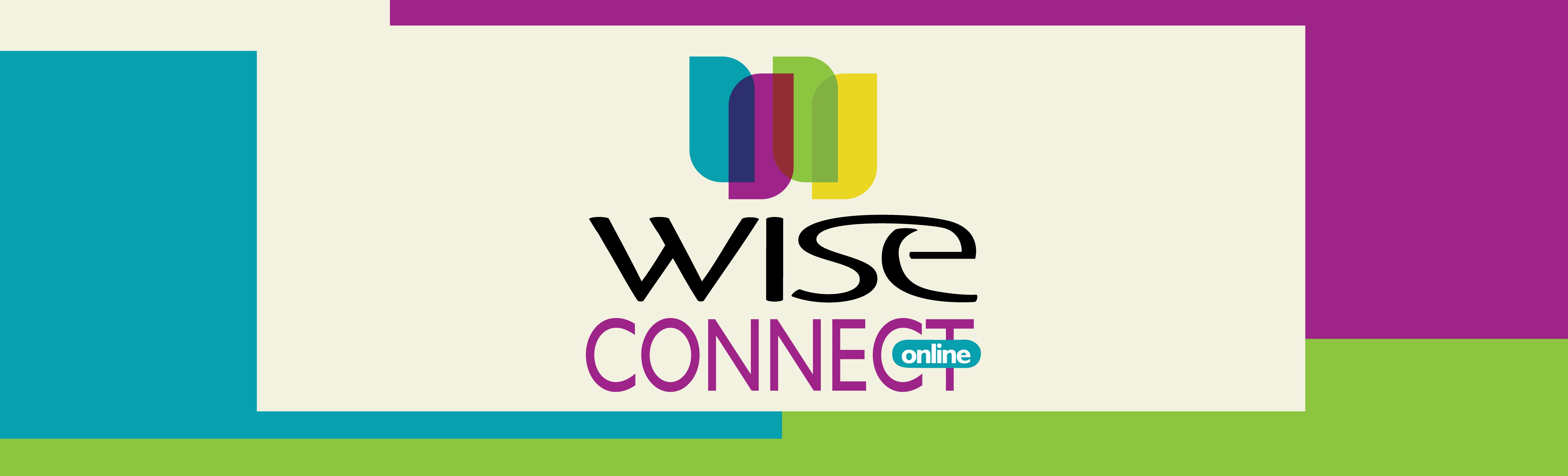 2021 WISE Logo Header connect online